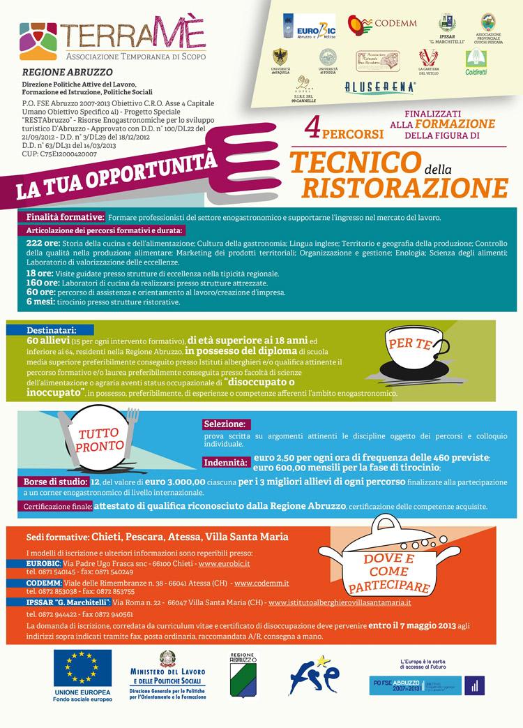 Tipicità ed Eccellenza nella Ristorazione della Regione Abruzzo e nel Mondo dell'Enogastronomia